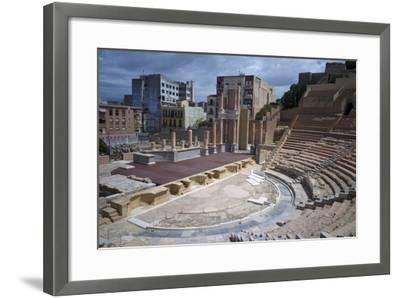 The Roman Theatre, Cartagena, Spain-Rob Cousins-Framed Photographic Print