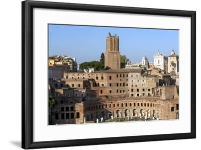 Trajans Markets, Ancient Rome, Rome, Lazio, Italy-James Emmerson-Framed Photographic Print