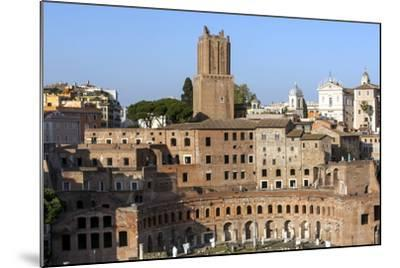 Trajans Markets, Ancient Rome, Rome, Lazio, Italy-James Emmerson-Mounted Photographic Print