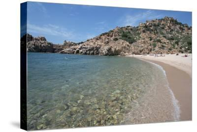 Li Cossi Beach at Costa Paradiso, Sardinia, Italy, Mediterranean-Ethel Davies-Stretched Canvas Print