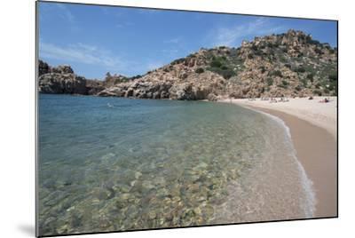 Li Cossi Beach at Costa Paradiso, Sardinia, Italy, Mediterranean-Ethel Davies-Mounted Photographic Print