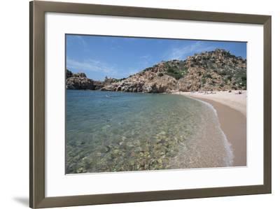 Li Cossi Beach at Costa Paradiso, Sardinia, Italy, Mediterranean-Ethel Davies-Framed Photographic Print