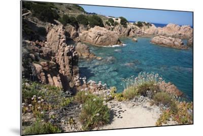 The Sea at Costa Paradiso, Sardinia, Italy, Mediterranean-Ethel Davies-Mounted Photographic Print