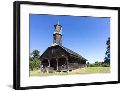 San Antonio Church, Colo, Island of Chiloe, Chile-Peter Groenendijk-Framed Photographic Print