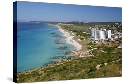 Son Bou, Menorca, Balearic Islands, Spain, Mediterranean-Stuart Black-Stretched Canvas Print
