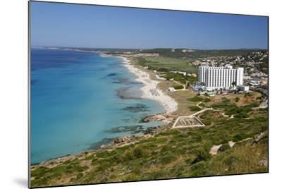 Son Bou, Menorca, Balearic Islands, Spain, Mediterranean-Stuart Black-Mounted Photographic Print