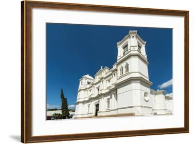 San Pedro Cathedral Built in 1874 on Parque Morazan in This Important Northern Commercial City-Rob Francis-Framed Photographic Print