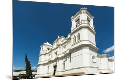 San Pedro Cathedral Built in 1874 on Parque Morazan in This Important Northern Commercial City-Rob Francis-Mounted Photographic Print