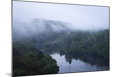 Dawn, Crozant Castle and the River Creuse, Limousin, France, Europe-Jean Brooks-Mounted Photographic Print