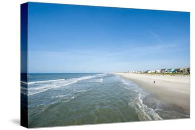 Atlantic Beach, Outer Banks, North Carolina, United States of America, North America-Michael DeFreitas-Stretched Canvas Print