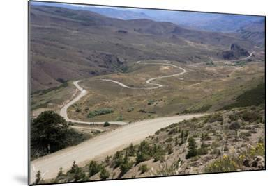 Winding Road, Foothills of the Andes, Argentina-Peter Groenendijk-Mounted Photographic Print