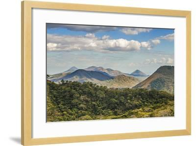 The North West Volcanic Chain-Rob Francis-Framed Photographic Print