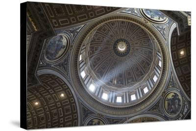 Michelangelo's Dome, St. Peter's Basilica, Vatican City, Rome, Lazio, Italy-Stuart Black-Stretched Canvas Print