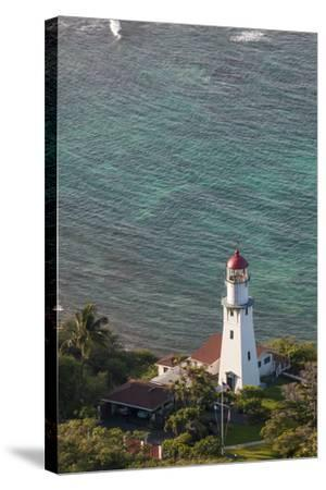 Diamond Head Lighthouse, Honolulu, Oahu, Hawaii, United States of America, Pacific-Michael DeFreitas-Stretched Canvas Print