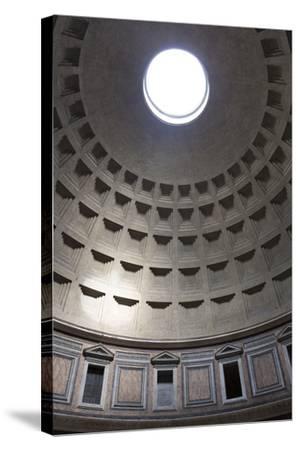 Interior View of the Cupola Inside the Pantheon, Piazza Della Rotonda, Rome, Lazio, Italy-Stuart Black-Stretched Canvas Print