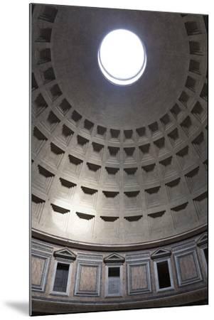 Interior View of the Cupola Inside the Pantheon, Piazza Della Rotonda, Rome, Lazio, Italy-Stuart Black-Mounted Photographic Print