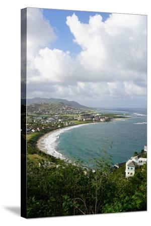 Atlantic Coast, St. Kitts, St. Kitts and Nevis-Robert Harding-Stretched Canvas Print