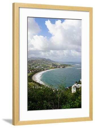 Atlantic Coast, St. Kitts, St. Kitts and Nevis-Robert Harding-Framed Photographic Print
