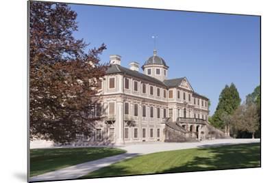 Schloss Favorite Castle, Rastatt, Black Forest, Baden-Wurttemberg, Germany, Europe-Markus Lange-Mounted Photographic Print