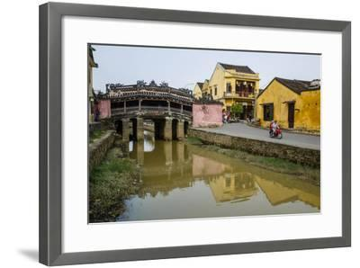 Japanese Covered Bridge, Hoi An, UNESCO World Heritage Site, Vietnam, Indochina-Yadid Levy-Framed Photographic Print