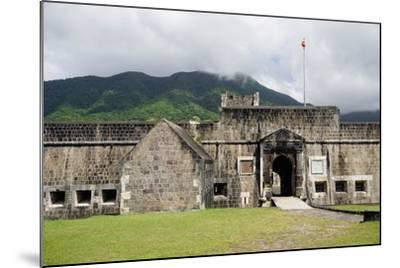 Brimstone Hill Fortress, St. Kitts, St. Kitts and Nevis-Robert Harding-Mounted Photographic Print