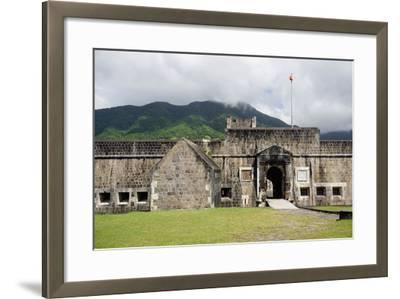 Brimstone Hill Fortress, St. Kitts, St. Kitts and Nevis-Robert Harding-Framed Photographic Print