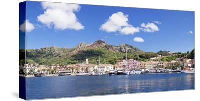 Porto Azzuro, Island of Elba, Livorno Province, Tuscany, Italy-Markus Lange-Stretched Canvas Print