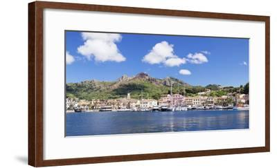Porto Azzuro, Island of Elba, Livorno Province, Tuscany, Italy-Markus Lange-Framed Photographic Print