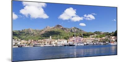 Porto Azzuro, Island of Elba, Livorno Province, Tuscany, Italy-Markus Lange-Mounted Photographic Print