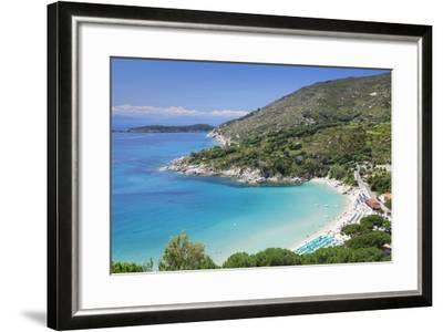 Beach of Cavoli, Island of Elba, Livorno Province, Tuscany, Italy-Markus Lange-Framed Photographic Print