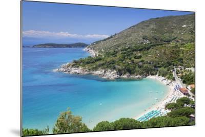 Beach of Cavoli, Island of Elba, Livorno Province, Tuscany, Italy-Markus Lange-Mounted Photographic Print