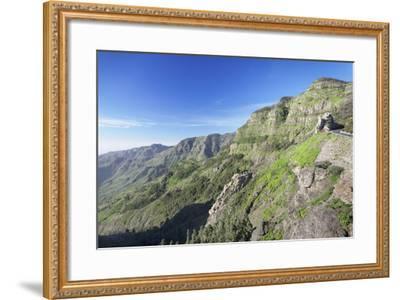 Mirador De Roques, Degollada De Agando, La Gomera, Canary Islands, Spain, Europe-Markus Lange-Framed Photographic Print