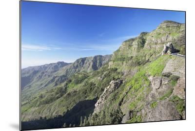 Mirador De Roques, Degollada De Agando, La Gomera, Canary Islands, Spain, Europe-Markus Lange-Mounted Photographic Print