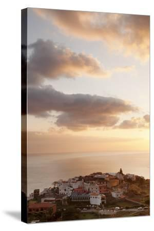 Agulo, La Gomera, Canary Islands, Spain, Atlantic, Europe-Markus Lange-Stretched Canvas Print