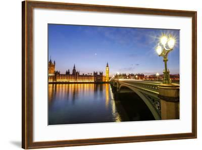 View of Big Ben and Palace of Westminster-Roberto Moiola-Framed Photographic Print