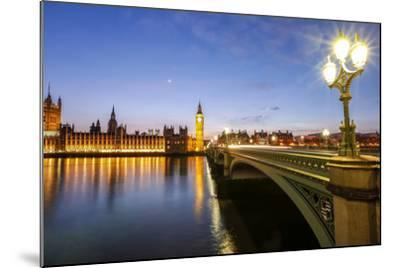 View of Big Ben and Palace of Westminster-Roberto Moiola-Mounted Photographic Print