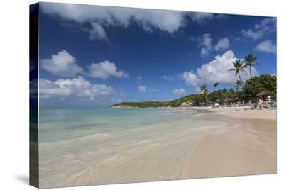Dickinson Bay Overlooking the Caribbean Sea, Antigua, Leeward Islands, West Indies-Roberto Moiola-Stretched Canvas Print