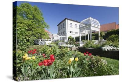 Rosengarten (Rose Garden) in Spring, Ettlingen, Baden-Wurttemberg, Germany, Europe-Markus Lange-Stretched Canvas Print