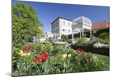 Rosengarten (Rose Garden) in Spring, Ettlingen, Baden-Wurttemberg, Germany, Europe-Markus Lange-Mounted Photographic Print