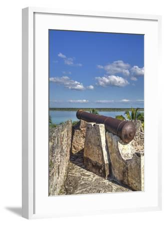Old Cannon, Ramparts of San Felipe Fort, Built in 1733-Richard Maschmeyer-Framed Photographic Print