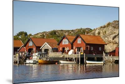 Timber Houses, Grebbestad, Bohuslan Region, West Coast, Sweden, Scandinavia, Europe-Yadid Levy-Mounted Photographic Print