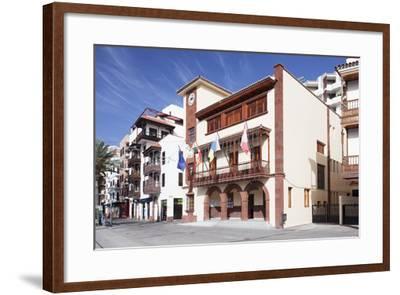 Town Hall at Plaza De Las Americas Square, San Sebastian, La Gomera, Canary Islands, Spain, Europe-Markus Lange-Framed Photographic Print
