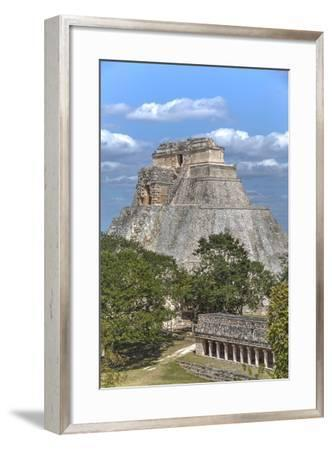 Columns Building in the Foreground-Richard Maschmeyer-Framed Photographic Print