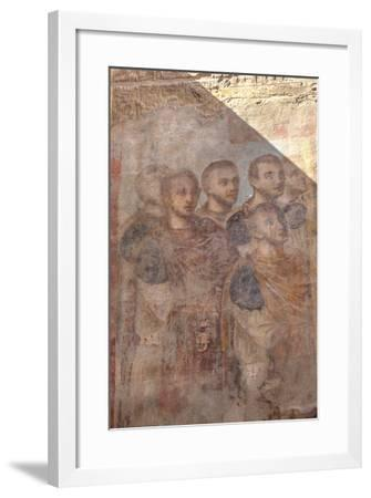 Paintings of Roman Emperors, Hypostyle Hall, Luxor Temple-Richard Maschmeyer-Framed Photographic Print