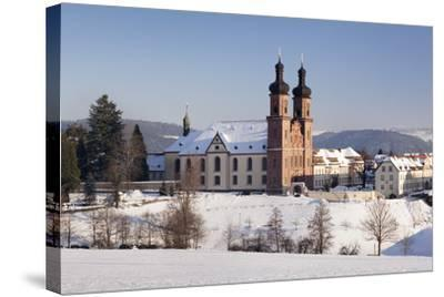 Abbey of St. Peter (Sankt Peter), Glottertal Valley, Black Forest, Baden-Wuerttemberg, Germany-Markus Lange-Stretched Canvas Print