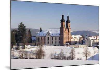 Abbey of St. Peter (Sankt Peter), Glottertal Valley, Black Forest, Baden-Wuerttemberg, Germany-Markus Lange-Mounted Photographic Print