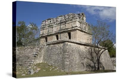 The Red House, Casa Colorado, Chichen Itza, Yucatan, Mexico, North America-Richard Maschmeyer-Stretched Canvas Print