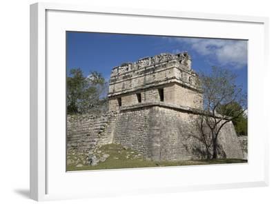 The Red House, Casa Colorado, Chichen Itza, Yucatan, Mexico, North America-Richard Maschmeyer-Framed Photographic Print