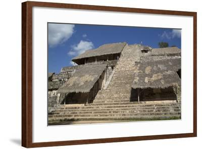 The Acropolis, Ek Balam, Mayan Archaeological Site, Yucatan, Mexico, North America-Richard Maschmeyer-Framed Photographic Print