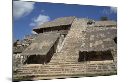 The Acropolis, Ek Balam, Mayan Archaeological Site, Yucatan, Mexico, North America-Richard Maschmeyer-Mounted Photographic Print